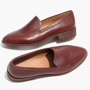 Madewell Frances Loafer in English Saddle